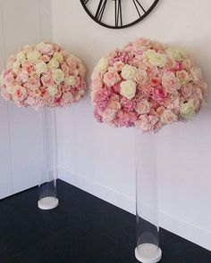 Our wedding columns with luxe florals 💓💖 . 1.6m in height 😊💝 #weddingevents #sydneywedding #sydneyevents #sydneyflowers #flowers #flower #wedding #weddings #weddingseason #weddingflowers #instagood #pink #pinkflowers #weddinghire #weddinghiresydney