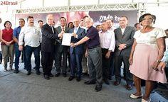 Bairros de Vila Velha e Guarapari recebem investimentos em esgotamento sanitário