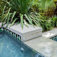Pool Waterline Tile - Clay Imports Courtyard Pool, Pool Chemicals, Fire Clay, Clay Tiles, Backyard Projects, Beach Pool, Pool Designs, Building Materials, Swimming Pools