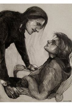 Snape and Harry