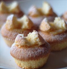 Lemon Curd Butterfly Cakes from Food.com:   These are gorgeous little cupcakes - for your eyes and tastebuds! You may make the filling with orange curd (replace lemon with 1 large orange) instead of lemon or quite simply fill them up with whipped cream.