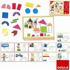 Formes et figures mosaiques Goula - Magasin de Jouets pour Enfants