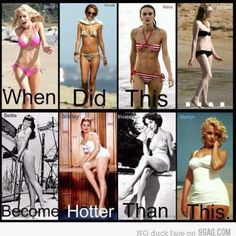 So true. I hate seeing beautiful girls who look healthy and fit think they are fat because they don't look twiggy. Naturally tiny, skinny women are very few and far between.Thin women are beautiful too, but embrace those hips and those boobs! Looks Style, My Style, Curvy Style, Curvy Fit, Fitness Motivation, Fitness Fun, Fitness Quotes, Health Fitness, Motivation Wall