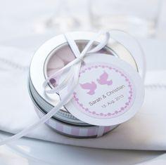 """*Brause Herzen* – ein prickelndes Gastgeschenk zur Hochzeit...    ...und ein kleines """"Dankeschön"""" für Deine Gäste. Danke, dafür, dass sie an Deinem..."""