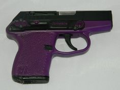 Kel-Tec P3AT 380acp Purple Lady's Gun with Laser - Buy-It-Now Inc Shipping For Sale at GunAuction.com - 12433421