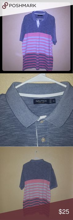 Awesome Nautica Polo Great Condition Men's Nautica Polo With NO DAMAGES!!! Nautica Shirts