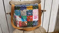 Patchwork Tote Bag by MellySueMade by MellySueMade on Etsy