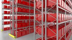 Dexion P90 Wide aisle video - ways to use pallet racking.