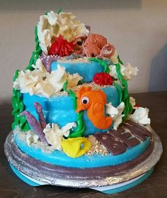 Octopus sea cake