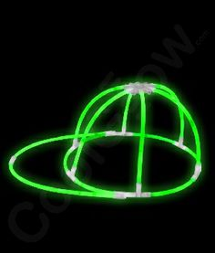 Share CoolGlow with you Friends and Receive 5% on your order.  Glow Cap - Green - Coolglow.com #http://pinterest.com/coolglow/