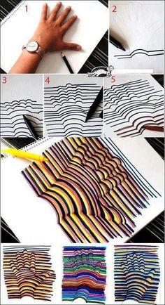 good idea for art class!