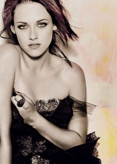 kristen stewart - as a pro photog I can appreciate the beauty of this image of Kristen....