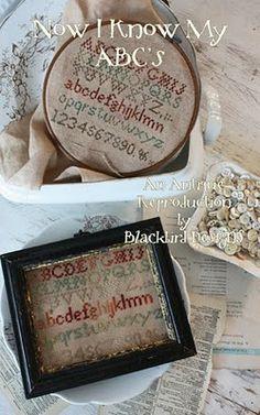 Blackbird Designs - One stitch at a time: Free Chart