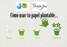@OCATALAVERA @DEMPSEY.JONES  Etiquetas de papel reciclado y plantable