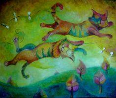 Анастасия Балыш. Коты перелетные. $370