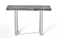 Blue Sycamore Sofa Table / Entrance Table