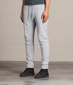 Allsaints - Mens Raven Sweat Pant - $108.00 Mens Joggers Sweatpants, Drop Crotch, Famous Brands, Stylish Men, Drawstring Waist, Lounge Wear, Sweatshirts, Raven, How To Wear