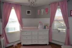 Project Nursery - Gray and pink nursery baby girl
