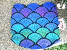 Stained Glass bag, pics even better on ravelry