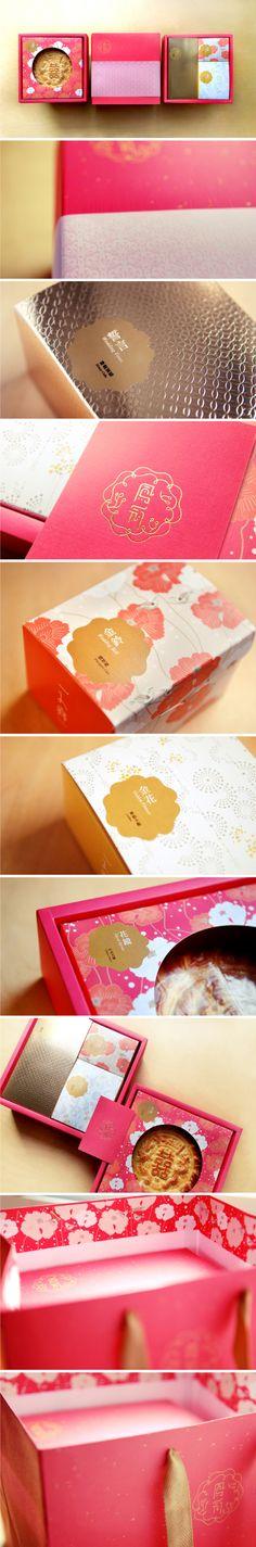 一之鄉 /《鳳冠》中式喜餅 / MURA DESIGN beautiful cakes #packaging PD