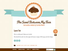 is a major update. Buttercream is a cute cupcake theme in three different color styles. Also supports optional responsive layout, custom menus, widget-ready sidebars and all post formats. Web Design, Blog Design, Graphic Design, Free Html Website Templates, Theme List, Wordpress Template, Wordpress Free, Giant Cupcakes, Responsive Layout