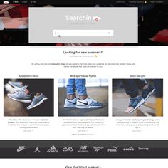 Searchin 2.0 - Over 14.000 sneakers from more than 70 shops worldwide.