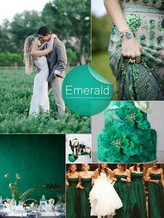 Esmeralda para bodas