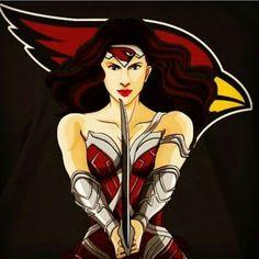 Arizona Cardinals Wonder Woman 4/2016 #BirdGang #AZLadyBirds Check out Arizona LadyBirds on Facebook and Instagram for more!