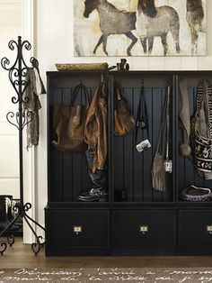 Mudroom Benches: Pictures, Options, Tips and Ideas | Home Remodeling - Ideas for Basements, Home Theaters & More | HGTV