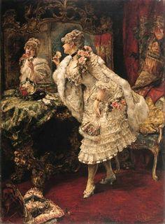 Eduardo Leon Garrido (1856 – 1949) – Pintor Espanhol_15