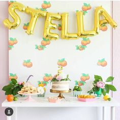 """Northstar Balloons on Instagram: """"Orange you pretty! Loving on this dessert table creation by @ajoyfulriot! • #northstarballoons #balloons #sweets #yahoofood #partyidea #buzzfeedparty #buzzfeedfood #dessert #cakeart #partydecor #cakes #cake #sweetstable #kidsparty #abmhappylife #letthembelittle #letthekids #letterballoons #darlingweekend #abmlifeissweet #abmcrafty #birthdayparty#kidsparty #sweettooth #thatsdarling #darlingmovementmt"""""""