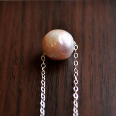 NEW Large Pearl Necklace Kasumi Like Freshwater by livjewellery, $95.00 https://www.etsy.com/listing/196612983/new-large-pearl-necklace-kasumi-like?ref=shop_home_active_1