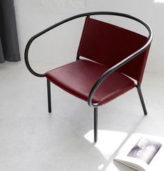Inspired by iconic chairs of early modernism, the Afteroom Lounge Chair is a modern reinterpretation of elegance.