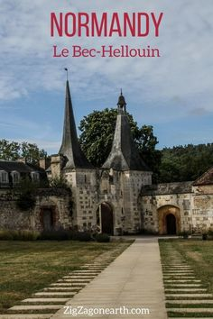 Discover the charming village of Le Bec-Hellouin with half timbered houses and an old abbey -- Normandy Travel Tips | Normandy things to do | Normandy Itinerary | Normandy Trip | Normandy Photography | Normandy, France | #Normandy #France