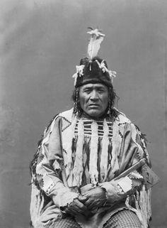 Running Crane, 1894 - Blackfoot | www.American-Tribes.com