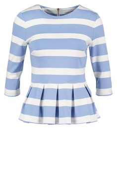 mint&berry Maglietta a manica lunga forever blue striped blouse shirt top