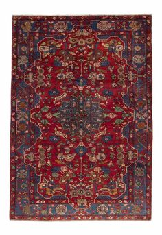 Nahavand Perser Handgeknüpft orientalisch Teppich 272 x 158 cm carpet