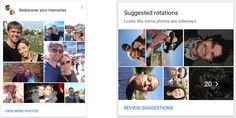 The latest update to the Google Photos app is a big one: it uses AI technology to add four new features from resurfacing old memories to fixing sideways photos. The new features are available in the iOS app Android app (shown above) and on the web.  While the iPhone should recognize whether youre holding the camera vertically or horizontally there are times when this doesnt work reliably.The app will now automatically detect photos which appear to be sideways and offer to fix them for you…