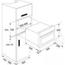 Medida de horno empotrado buscar con google cocina for Mueble horno empotrado