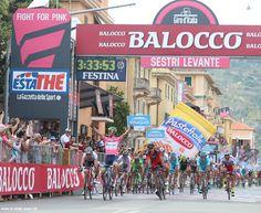 Giro d'Italia 2015 Matthews wins stage 3 in Sestri Levante