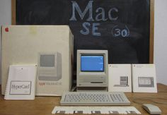 Excellent Boxed 1988 Apple Macintosh Mac SE upgraded to se/30 MUST SEE #Apple