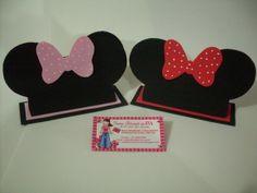 felt/fun foam Minnie hats....cute!