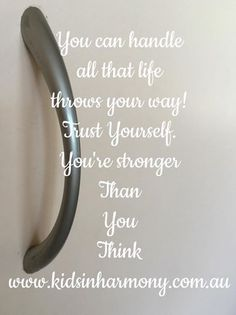Stronger Than You Think, Thinking Of You, Inspirational Quotes, Kids, Thinking About You, Life Coach Quotes, Young Children, Boys, Inspiring Quotes