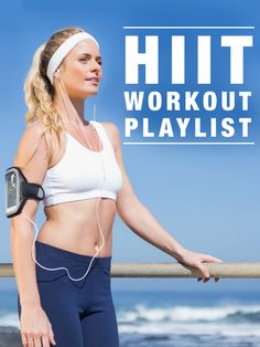 HIIT Workout Playlist-Fast workouts need fast paced, high BPM music. This HIIT playlist is a perfect companion for any HIIT Workout. Fast Workouts, At Home Workouts, Exercise Workouts, Daily Exercise, Daily Workouts, Workout Tips, Regular Exercise, Hiit, Best Workout Plan