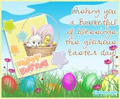 Happy Easter everyone! Enjoy the family time, the hunting for Easter eggs. Have a beautiful day!