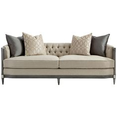 Caracole Upholstery Off The Cuff Sofa
