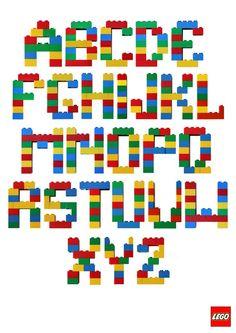 lego buchstaben ... - #Buchstaben #lego