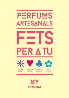 Gamma de perfums MY PERFUM per a Farmàcia Sans.