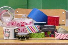 Ten quick, easy, and fun ways to use washi paper tape in your classroom and lessons.