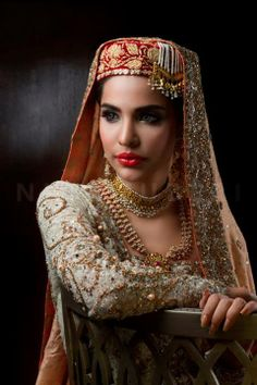 different bridal look